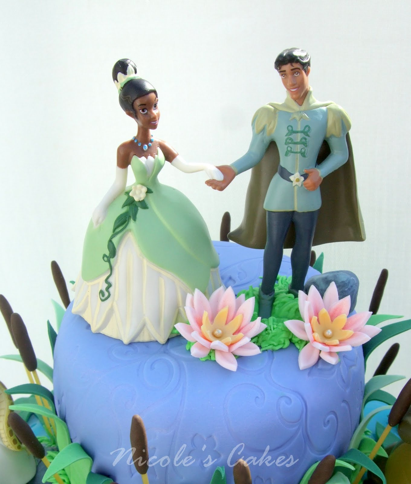 princess and frog wedding cake topper best cakes princess and the frog cake 2013 18760