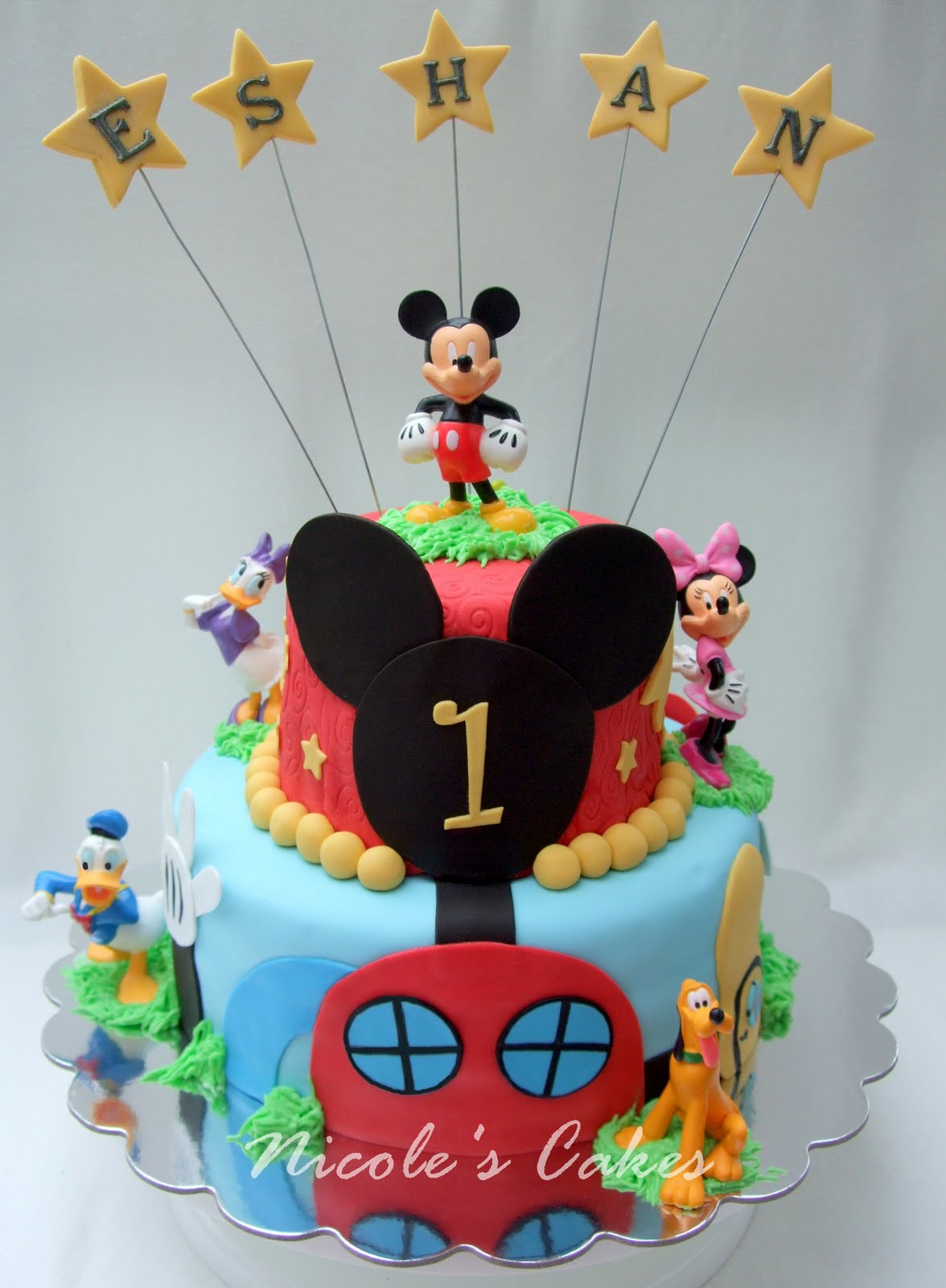 Confections Cakes Creations Mickey Mouse Clubhouse Cake Eggless