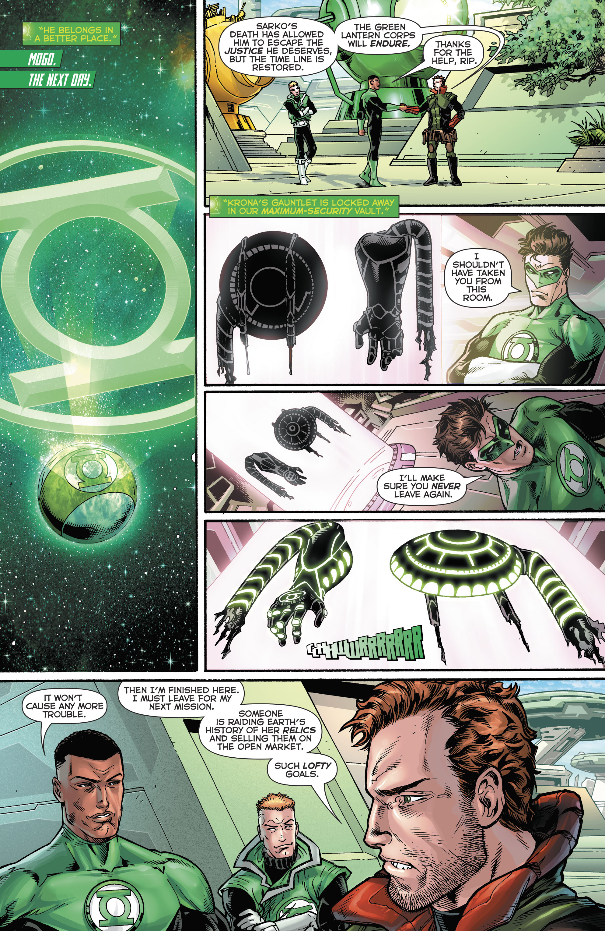 Read online Hal Jordan And The Green Lantern Corps comic -  Issue #21 - 21