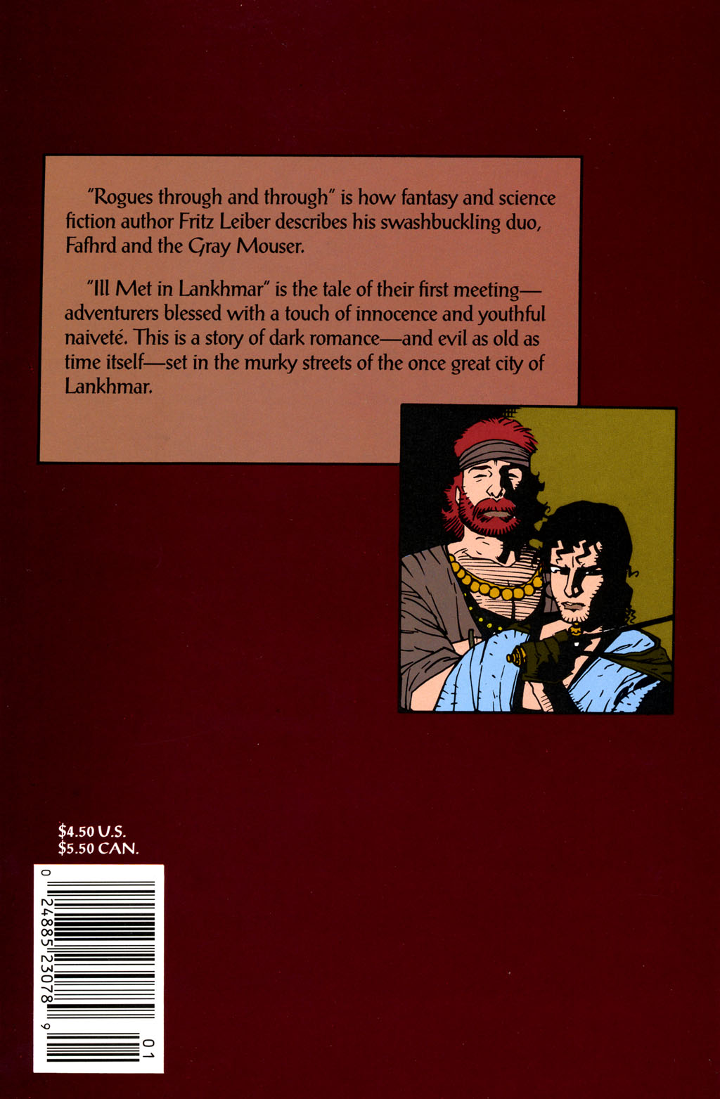 Read online Fafhrd and the Gray Mouser comic -  Issue #1 - 52