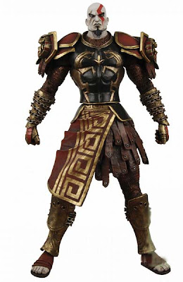 Jual Kratos Ares Armor  God of War II Action Figure