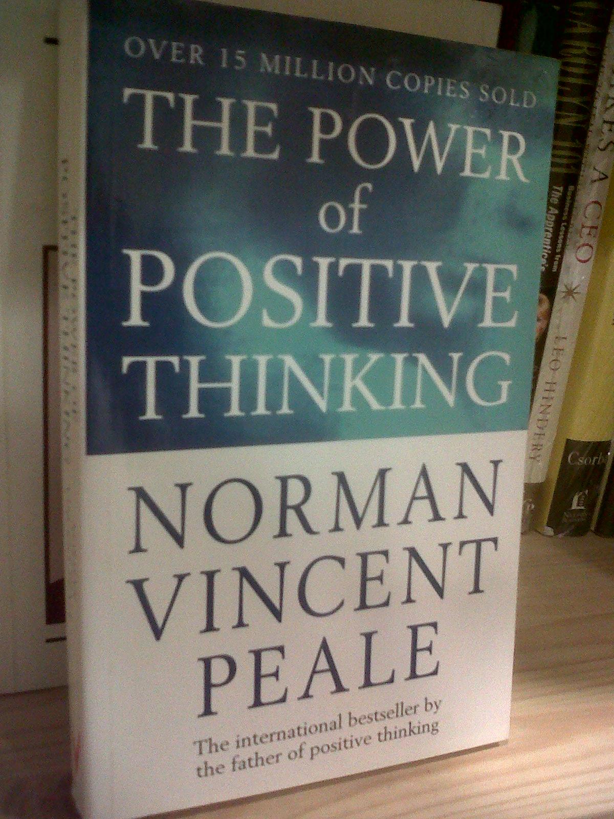 نتيجة بحث الصور عن The Power Of Positive Thinking