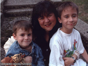 Image: Pamela Madsen had four rounds of in-vitro fertilization before her sons Spencer, left, and Tyler, were conceived