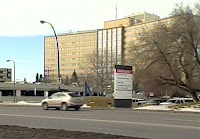 Image: Calgary Foothills hospital where the twins were born
