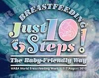 Image: Breastfeeding freebies for World Breastfeeding Week