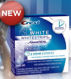 crest whitening sample free strip