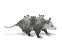 opossum toy miniature