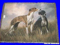 greyhound blanket throw