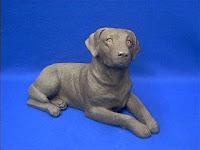 Sandicast Chocolate Lab Figurine Labrador