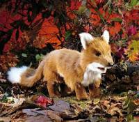 fox puppet folkmanis