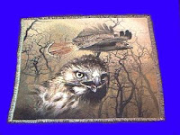 red tail hawk blanket throw tapestry
