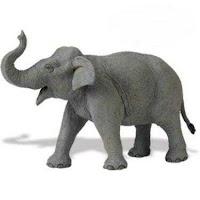 Asian Elephant Toy Minature