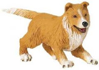 collie puppy toy miniature