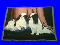 japanese chin blanket throw