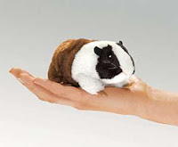 guinea pig finger puppet