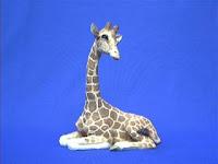 sandicast giraffe figurine