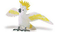 cockatoo toy miniature bird