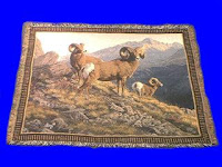 big horn sheep blanket throw tapestry