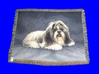 Shih Tzu Blanket Throw Tapestry USA
