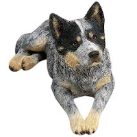 Sandicast Australian Cattle Dog Figurine