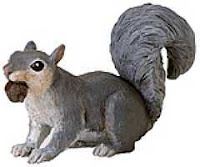 squirrel toy miniature