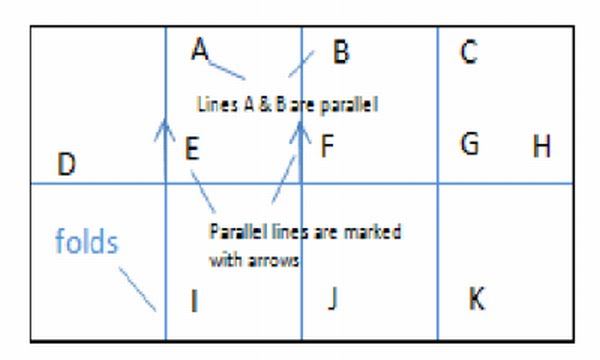 Drawing Parallel Lines Using Set Squares : Room math how to draw parallel and perpendicular lines