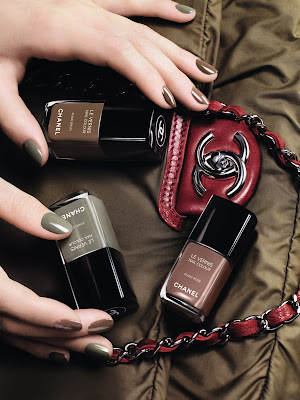 Les Khaki De Chanel Ltd Edition Nail Varnish