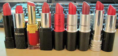 My Red Lipstick Collection