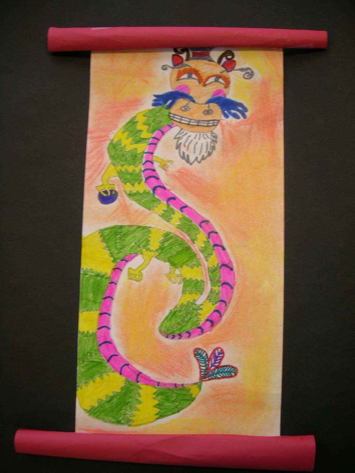 The Elementary Art Room Chinese Dragons