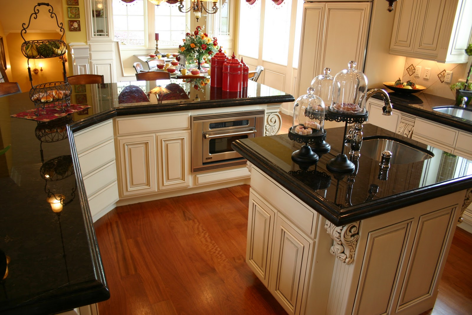 Black Kitchen Countertop The Granite Gurus Absolute Black Granite Kitchen