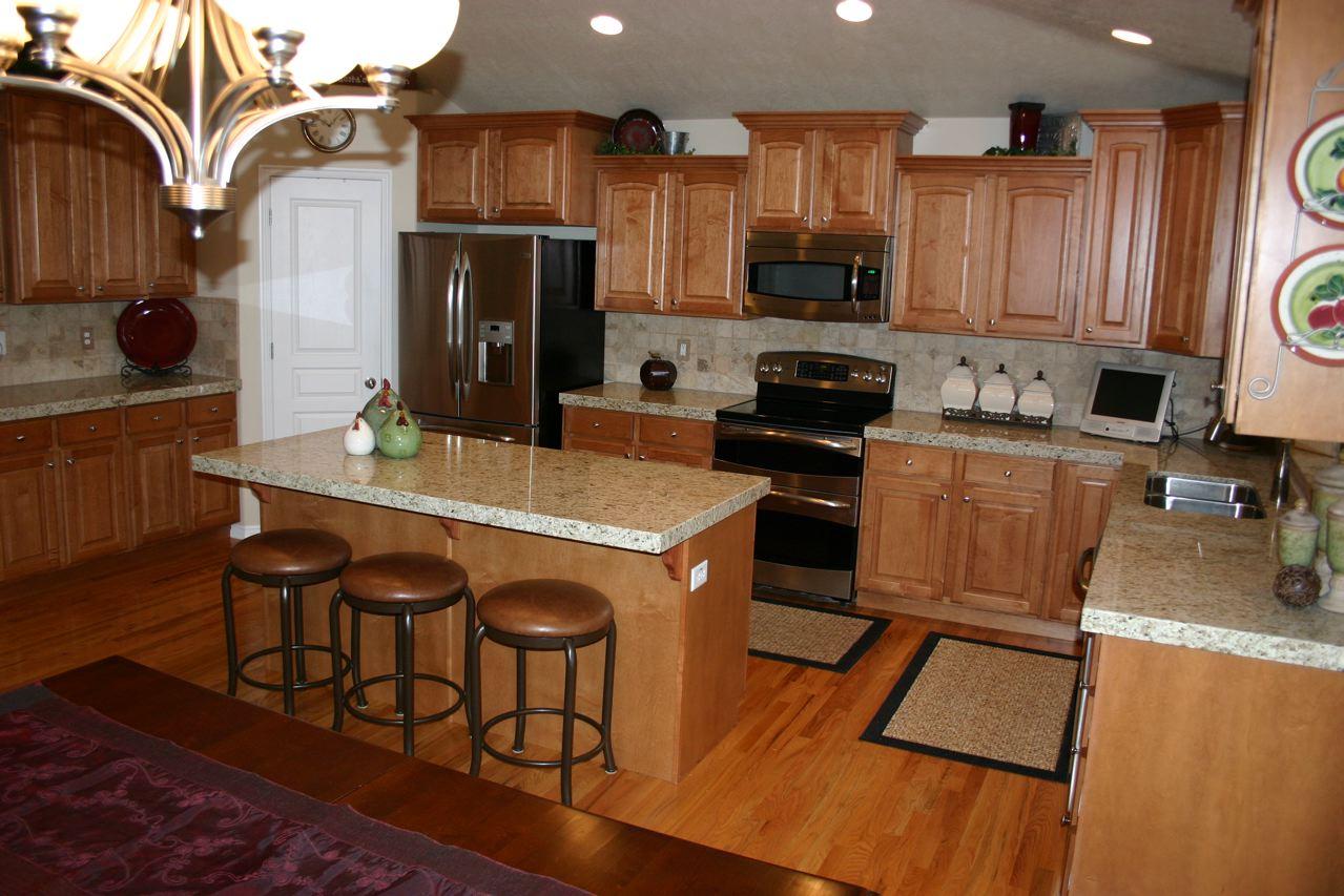 The Granite Gurus Giallo Ornamental Kitchen Before And