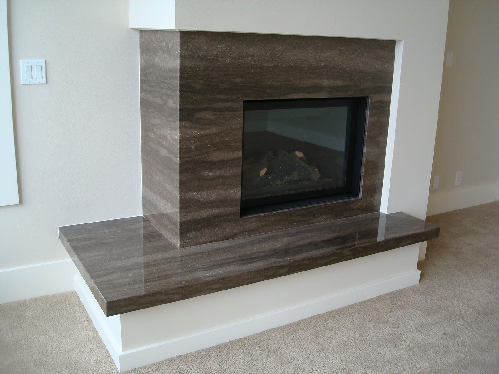 The Granite Gurus Beautiful Slab Fireplaces