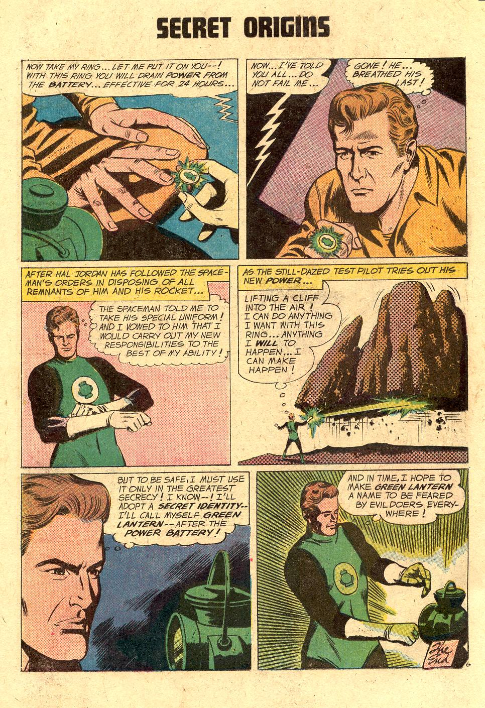 Read online Secret Origins (1973) comic -  Issue #2 - 18
