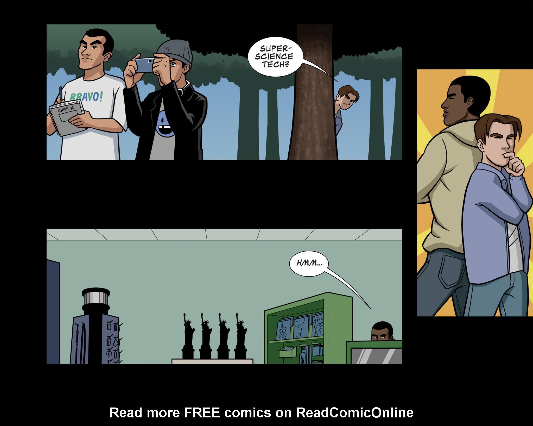 Read online Ultimate Spider-Man (Infinite Comics) (2015) comic -  Issue #7 - 7