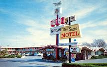Vintage Chrome Postcards Travisands Motel