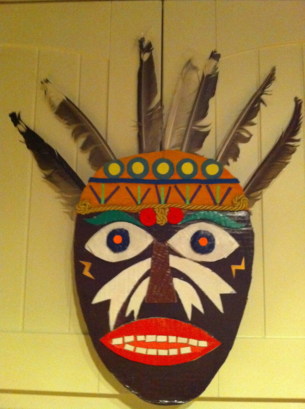 African Masks Craft Project