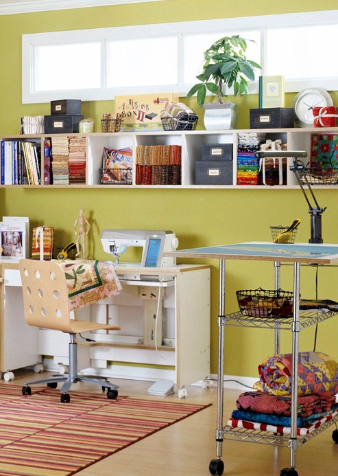 Sewing Room Designs: Apartment 303: Sewing Room Inspiration