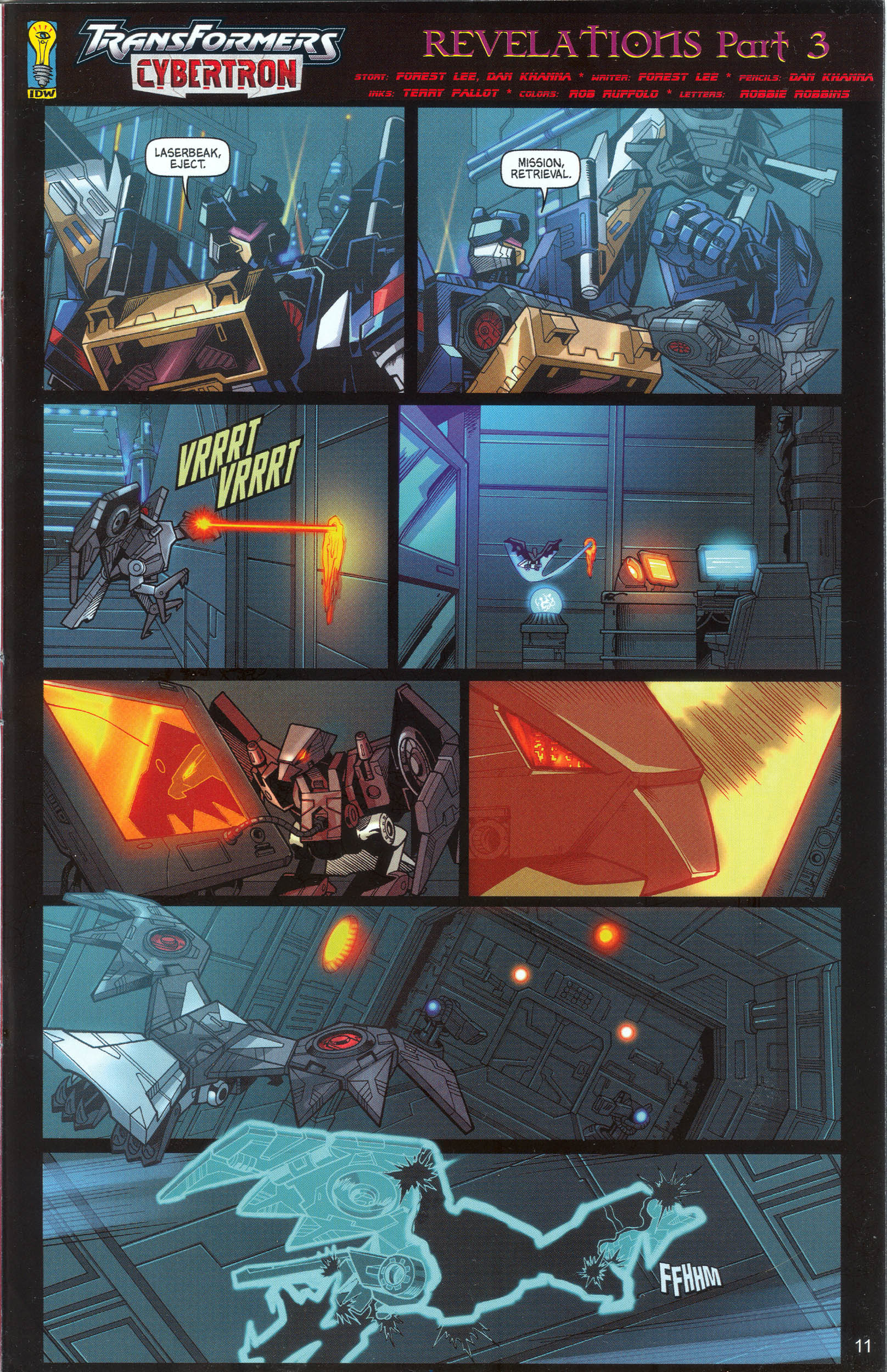 Read online Transformers: Collectors' Club comic -  Issue #9 - 11