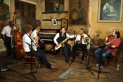 Steve Earle with the Preservation Hall Jazz Band