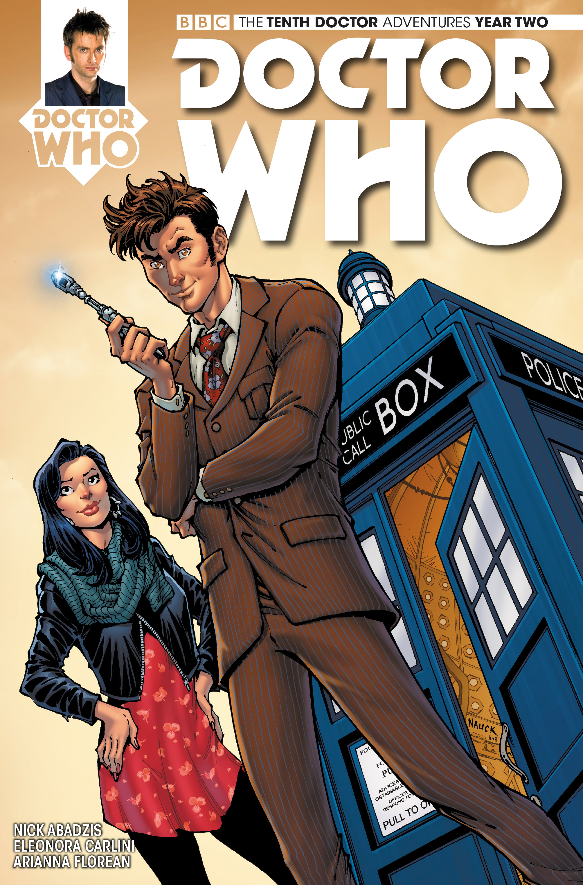 Doctor Who: The Tenth Doctor Year Two 8 Page 1