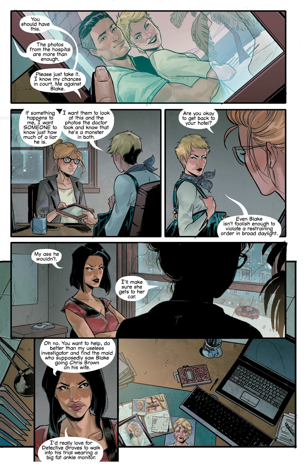 Read online Vindication comic -  Issue #4 - 29