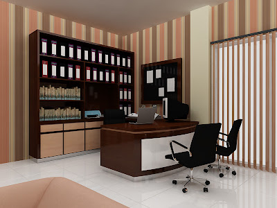 Sand_Architexture Portfolio Director Room  Office