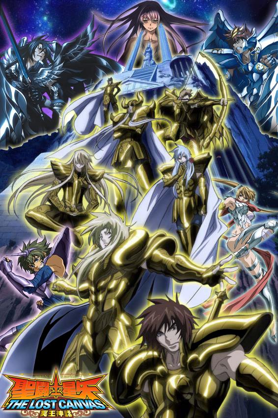 Resultado de imagem para SAINT SEIYA: THE LOST CANVAS 2 temporada poster