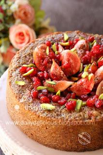 Fig Walnut Cake Recipe