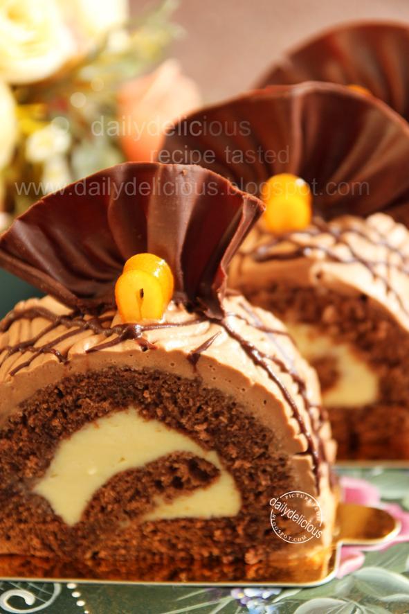 Cake Orange Chocolat Marbr Ef Bf Bd