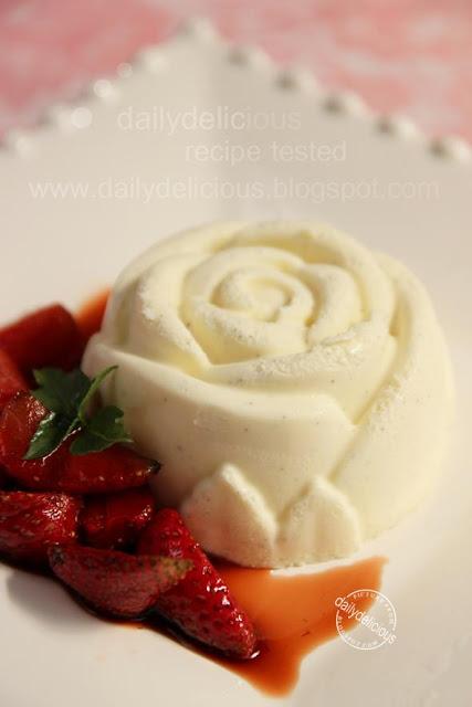 ... cake white chocolate ice cream with white chocolate and nougat chunks
