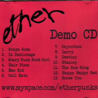 Ether Demo CD album cover