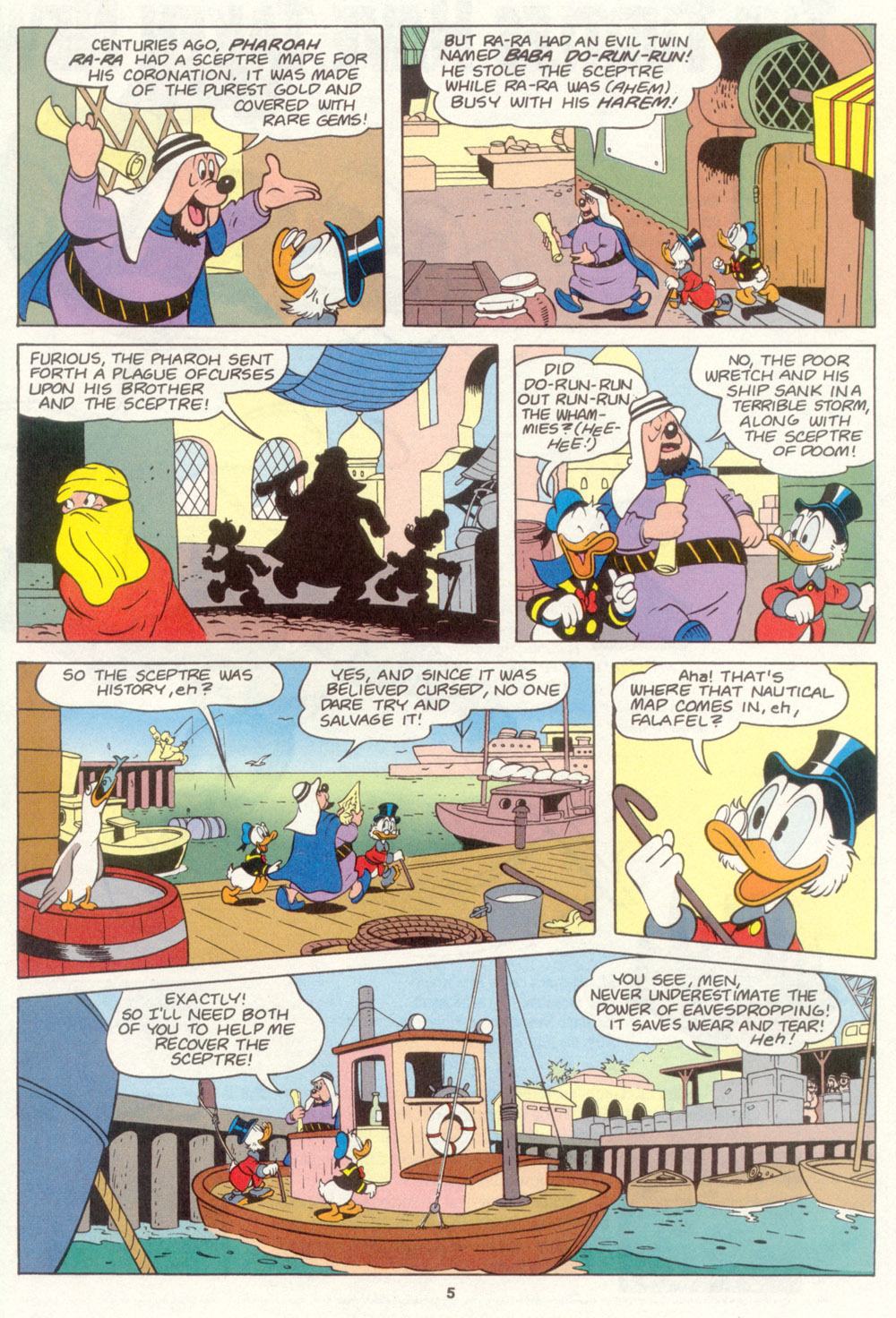 Read online Uncle Scrooge (1953) comic -  Issue #267 - 25