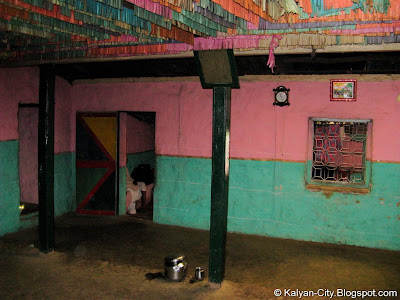 Inside Indian Village House