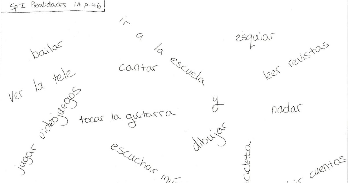 Teaching Español: Engaging Vocabulary Word Game